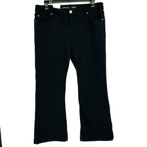 INC Black Bootcut Mid Rise Jeans